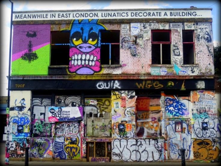 Hackney Wick Lunatics Streetart